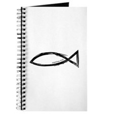 Ichthys (Jesus Fish) - Matthew 4:19 Journal