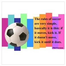 Soccer Quote Poster