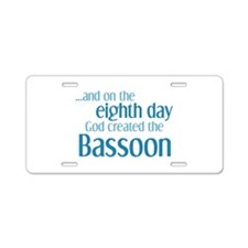 Bassoon Creation Aluminum License Plate