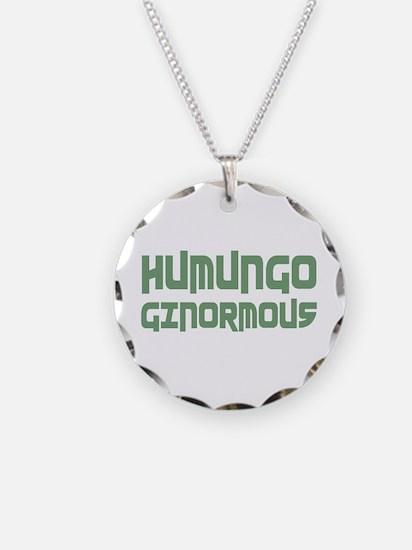 Humungo Ginormous BIG Necklace