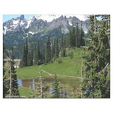 Mt Rainier 2 Poster