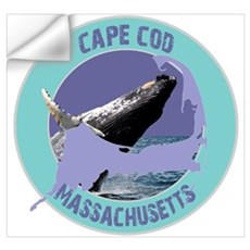 Cape Cod Whale Wall Decal