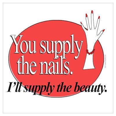 Manicurist Beauty Poster