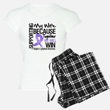 Support Wife Hodgkins pajamas