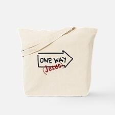 One Way (Jesus) Tote Bag