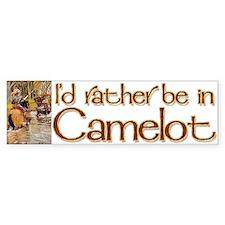 Camelot Bumper Bumper Sticker