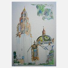 California Tower by Riccoboni