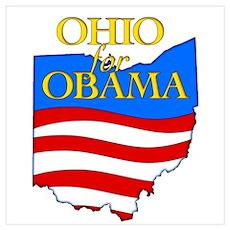 Ohio for Obama Poster