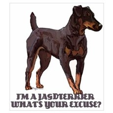 Jagdterrier Excuse Poster