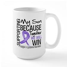 Supporting Son Hodgkins Mug
