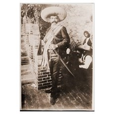 Emiliano Zapata Mexican Revolution Framed Print