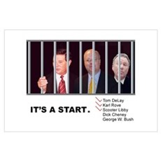 "Cons Behind Bars - (11x17"") Poster"
