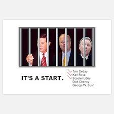 "Cons Behind Bars - (11x17"")"