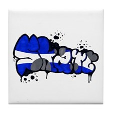Skate Graffiti Tile Coaster