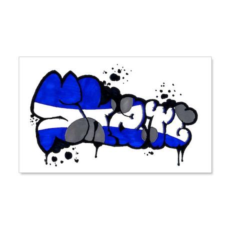 Skate Graffiti 22x14 Wall Peel