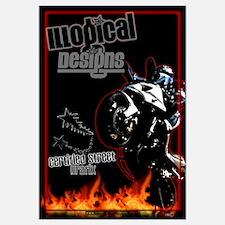 ILLogical Designs Large Motorcycle Wheelie