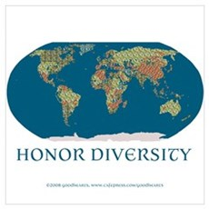 Honor Diversity Framed Print