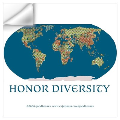 Honor Diversity Wall Decal