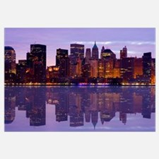 Manhattan Cityscape Reflectio