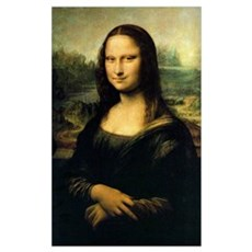 Evil Mona Lisa Canvas Art