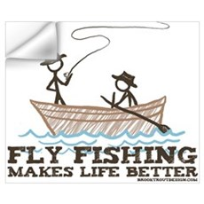 Fly Fishing Life Wall Decal