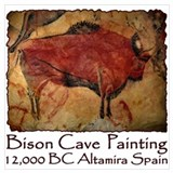 Cave art Wrapped Canvas Art