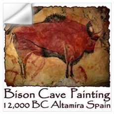 Bison Cave Painting Petroglyph Wall Decal