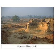 Harappa Mound A/B Poster