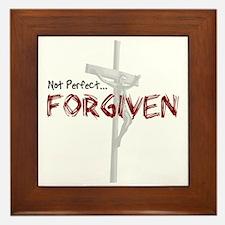 Not Perfect... Forgiven Framed Tile