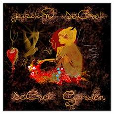 """""""Secret Garden"""" Poster"""