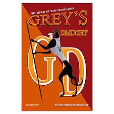 Greys Draught Poster