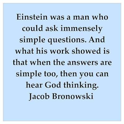 jacob bronowski quotes Poster