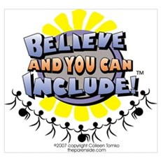 Believe and Include Poster