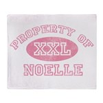 Property of Noelle Throw Blanket