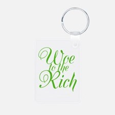 Woe to the Rich Keychains