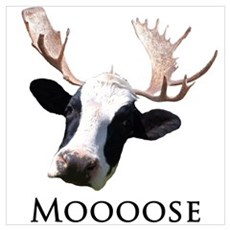 Moooose Poster