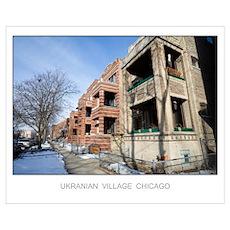 Vintage Apartments Poster