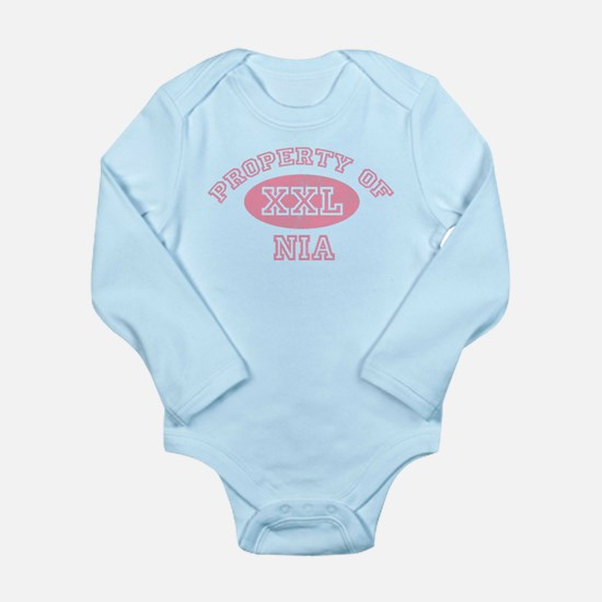Property of Nia Long Sleeve Infant Bodysuit