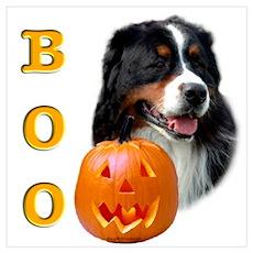 Halloween Berner Boo Poster