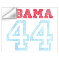 OBAMA 44 Wall Decal