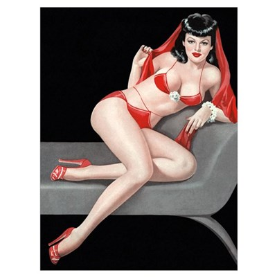 Seductive Girl Poster
