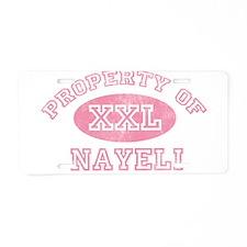 Property of Nayeli Aluminum License Plate