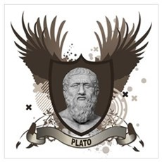 Plato Greek Philosopher Poster