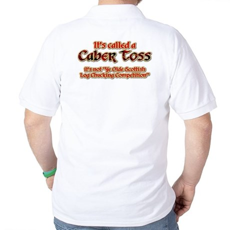 Log Chuckin' Golf Shirt