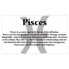 Pisces 19x11 Poster