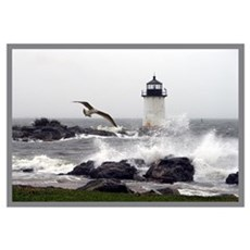 """Beautiful Lighthouses"" Framed Print"