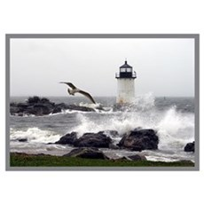 """Beautiful Lighthouses"" Poster"