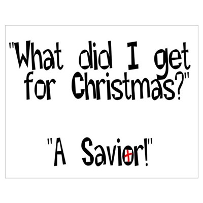 Christmas Savior Poster