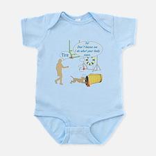 Body Says Infant Bodysuit