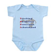 Schutzhund is TOPS Infant Bodysuit